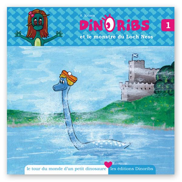 Livre Dinoribs et le monstre du Loch Ness
