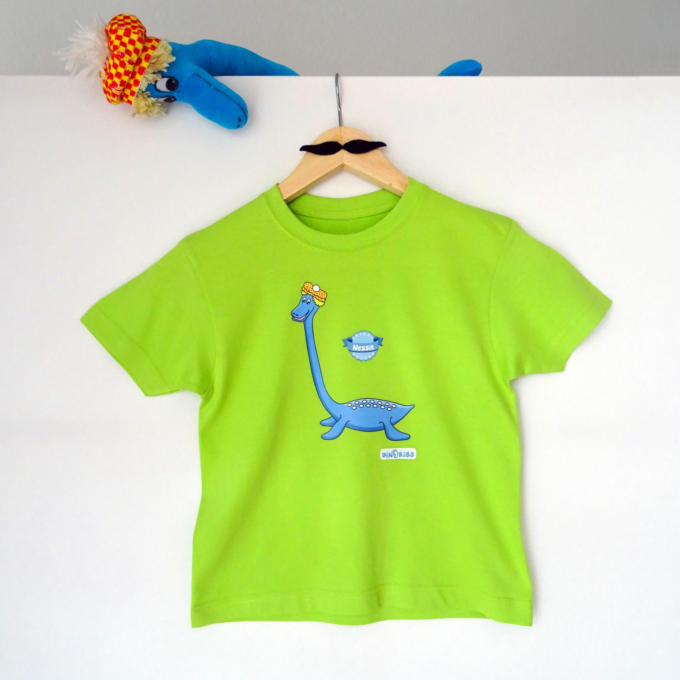 Tee-shirt Nessie made by Dinoribs