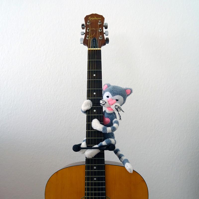 Neko, le chat guitariste