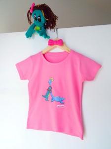 T-shirts enfant dinosaure - meilleurs amis
