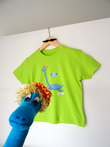 T-shirts enfant dinosaure - Nessie