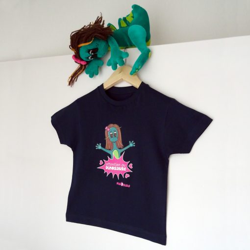 tee-shirt attention au dinosaure Dinoribs