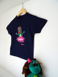 T-shirts enfant dinosaure - attention au dinosaure Dinoribs
