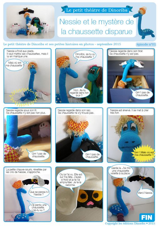 Nessie et le mystère de la chaussette disparue