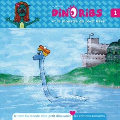 Découvrir l'univers de Dinoribs livre dinosaure 1